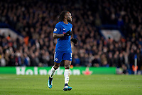 LONDON,ENGLAND - DECEMBER 05: Chelsea (15) Victor Moses during the UEFA Champions League group C match between Chelsea FC and Atletico Madrid at Stamford Bridge on December 5, 2017 in London, United Kingdom.  <br /> ( Photo by Sebastian Frej / MB Media )