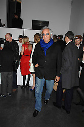 FLAVIO BRIATORE at a private view of Octagan a showcase of work of photographer Kevin Lynch featuring the stars of the Ultimate Fighter Championship held at Hamiltons gallery, Mayfair, London on 17th January 2008.<br />