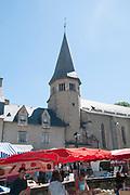 Sunday Market at Arreau, Hautes-Pyrénées, France.