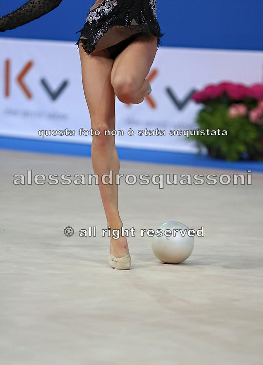 Kseniya Moustafaeva was born 8 June 1995, she is a French individual rhythmic gymnast of Belarusian origin.