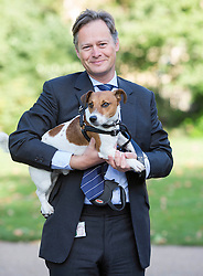 Conservative MP Matthew Offord is pictured with his dog Maximus, as he competed in the annual Westminster Dog of the Year 2013 this morning. London, United Kingdom. Thursday, 10th October 2013. Picture by i-Images