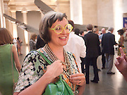 PHILLIPA PERRY, Tate Summer Party. Celebrating the opening of the  Fiona Banner. Harrier and Jaguar. Tate Britain. Annual Duveens Commission 29 June 2010. -DO NOT ARCHIVE-© Copyright Photograph by Dafydd Jones. 248 Clapham Rd. London SW9 0PZ. Tel 0207 820 0771. www.dafjones.com.