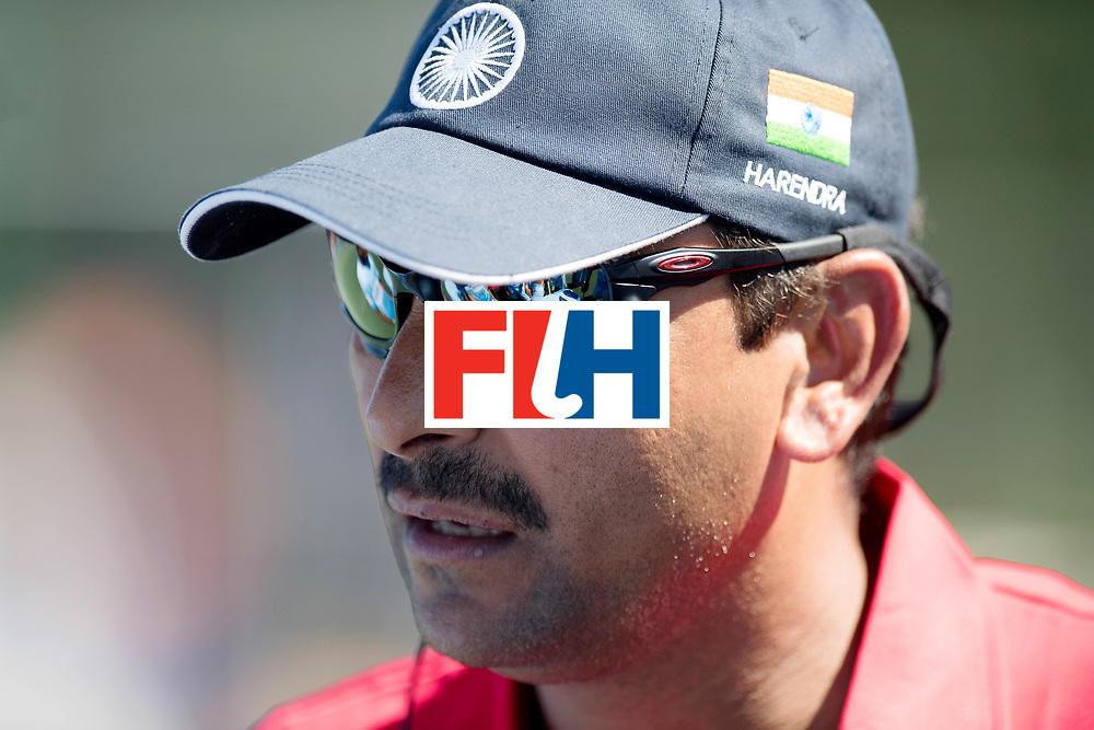 BREDA - Rabobank Hockey Champions Trophy<br /> Final Australia - India<br /> Photo: Harendra Singh.<br /> COPYRIGHT WORLDSPORTPICS FRANK UIJLENBROEK