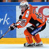 25.9.2012, Ritari Areena, H?meenlinna..J??kiekon SM-liiga 2012-13. HPK - Pelicans..Antti Aarnio - HPK