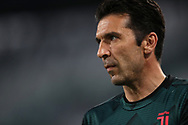 Juventus's Italian goalkeeper Gianluigi Buffon during the Serie A match at Allianz Stadium, Turin. Picture date: 26th June 2020. Picture credit should read: Jonathan Moscrop/Sportimage