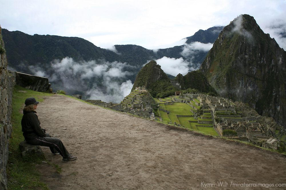 South America, Latin America, Peru, Machu Picchu.