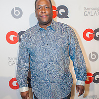 Wendell pierce posing at the GQ & Lebron James NBA All Star Style party sponsored by Samsung Galaxy on Saturday, February 15, 2014, at the Ogden Museum of Southern Art in New Orleans, Louisiana with live jam session from grammy Award-winning Artist The Roots. Photo Credit: Gustavo Escanelle / Retna Ltd.