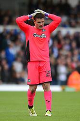 Kyle Letheren of Plymouth Argyle cuts a dejected figure - Mandatory by-line: Dougie Allward/JMP - 30/09/2017 - FOOTBALL - Memorial Stadium - Bristol, England - Bristol Rovers v Plymouth Argyle - Sky Bet League One