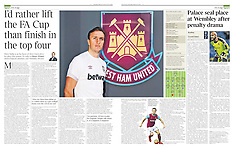 12.03.16 THE TIMES - MARK NOBLE (WHU FC)