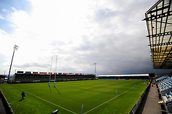 A general view of   prior to kick off - Mandatory by-line: Ryan Hiscott/JMP - 14/04/2019 - RUGBY - Sandy Park - Exeter, England - Exeter Chiefs v Wasps - Gallagher Premiership Rugby