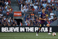September 29, 2018 - Barcelona, Barcelona, Spain - Clement Lenglet of FC Barcelona in action during the La Liga match between FC Barcelona and Athletic Club de Bilbao at Camp Nou on September 29, 2018 in Barcelona, Spain  (Credit Image: © David Aliaga/NurPhoto/ZUMA Press)