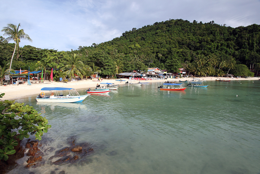 Coral Bay on Pulau Perhentian Kecil.