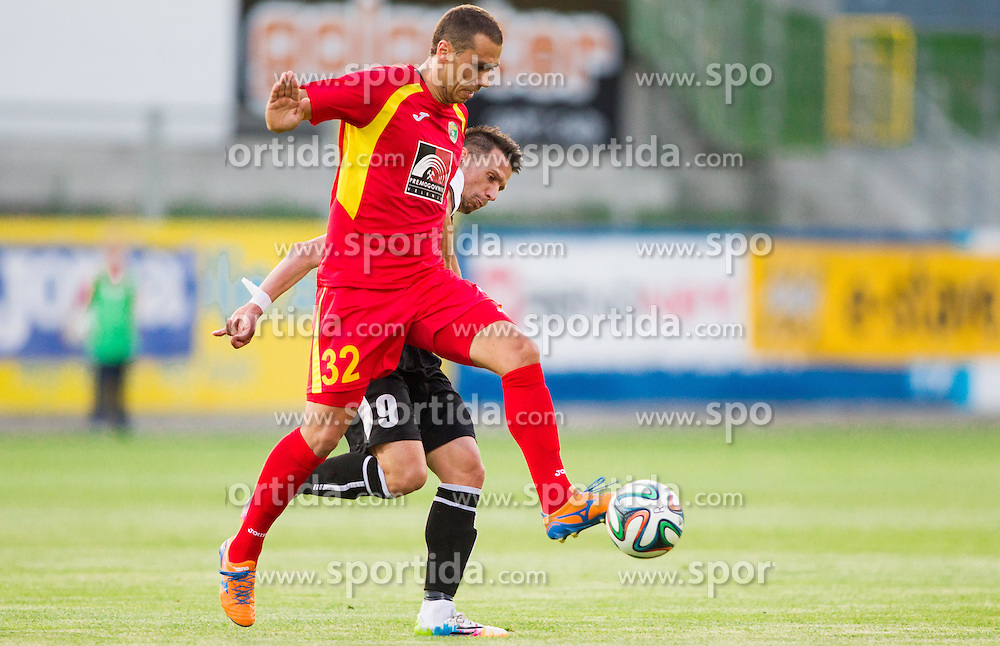Mate Eterovic of Rudar during football match between NK Rudar Velenje and KF Laci (Albania) in 1st Round of UEFA Europa League Qualifications on July 3, 2014 in Arena Petrol, Celje, Slovenia. Photo By Vid Ponikvar / Sportida