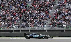 October 29, 2016 - Mexico - EUM20161029DEP16.JPG .CIUDAD DE MÉXICO MotoringAutomovilismo-F1.- El piloto alemán de la escudería Mercedes AMG Petronas, Nico Rosberg, en la en la carrera de clasificación del Gran Premio de México de la Fórmula 1, 29 de octubre de 2016, Autódromo Hermanos Rodríguez. Foto: Agencia EL UNIVERSALAlejandro AcostaJMA (Credit Image: © El Universal via ZUMA Wire)
