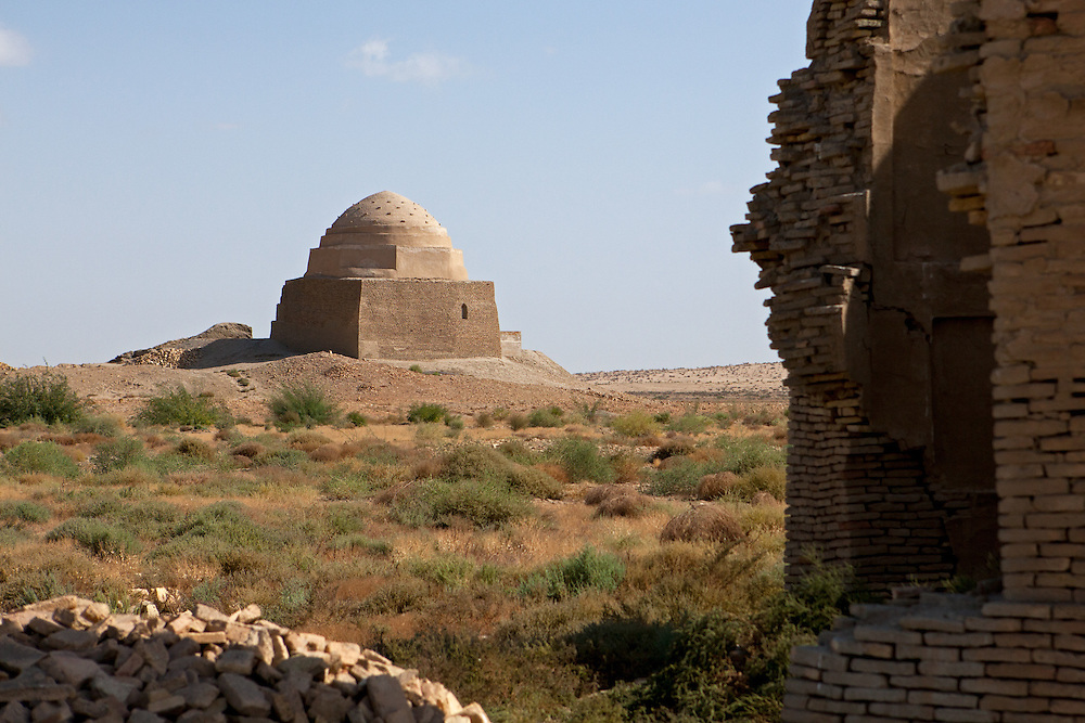 Tombs near Mashat-Ata, part of the broader Dekhistan archaeological area in western Turkmenistan