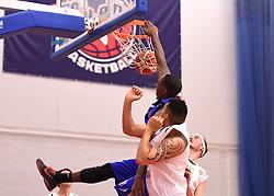 Tyrone Lee of Bristol Flyers, slam dunk  - Mandatory byline: Joe Meredith/JMP - 11/12/2015 - Basketball - SGS Wise Campus - Bristol, England - Bristol Flyers v Plymouth Raiders - British Basketball League