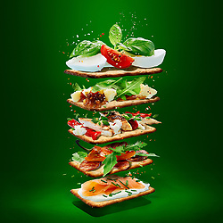 Crispbread Sarnies Garnish Ideas