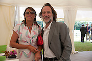 KATY GREEN; PAUL GREEN, The Dalwhinnie Crook  charity Polo match  at Longdole  Polo Club, Birdlip  hosted by the Halcyon Gallery. . 12 June 2010. -DO NOT ARCHIVE-© Copyright Photograph by Dafydd Jones. 248 Clapham Rd. London SW9 0PZ. Tel 0207 820 0771. www.dafjones.com.