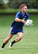 Ihaia West during a Blues Super Rugby pre season training session at Victoria Park in Auckland, New Zealand. Friday 4 December 2015. Copyright Photo: Andrew Cornaga / www.Photosport.nz
