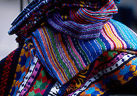 Traditional Mayan weavings for sale, Western Highland, Guatemala