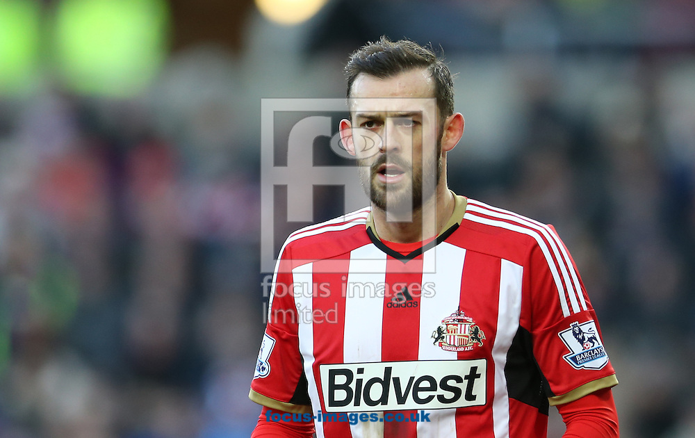 Steven Fletcher of Sunderland during the FA Cup match at the Stadium Of Light, Sunderland<br /> Picture by Simon Moore/Focus Images Ltd 07807 671782<br /> 24/01/2015