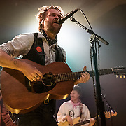 WASHINGTON, DC - January 15, 2020 - Hiss Golden Messenger singer MC Taylor performs at the 9:30 Club in Washington, D.C. with bassist Alex Bingham. (Photo by Kyle Gustafson / For The Washington Post)