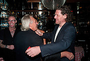 PETER STRINGFELLOW; MARCO PIERRE WHITE, launch of Fabulous Haircare Range, Frankie's Italian Bar and Grill, 3 Yeomans Row, off Brompton Road, London SW3, 7pm