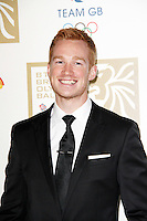 LONDON - NOVEMBER 30: Greg Rutherford attended the British Olympic Ball at the Grosvenor House Hotel, London, UK. November 30, 2012. (Photo by Richard Goldschmidt)