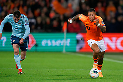 10-10-2019 NED: Netherlands - Northern Ireland, Rotterdam<br /> UEFA Qualifying round ­Group C match between Netherlands and Northern Ireland at De Kuip in Rotterdam / Memphis Depay #10 of the Netherlands