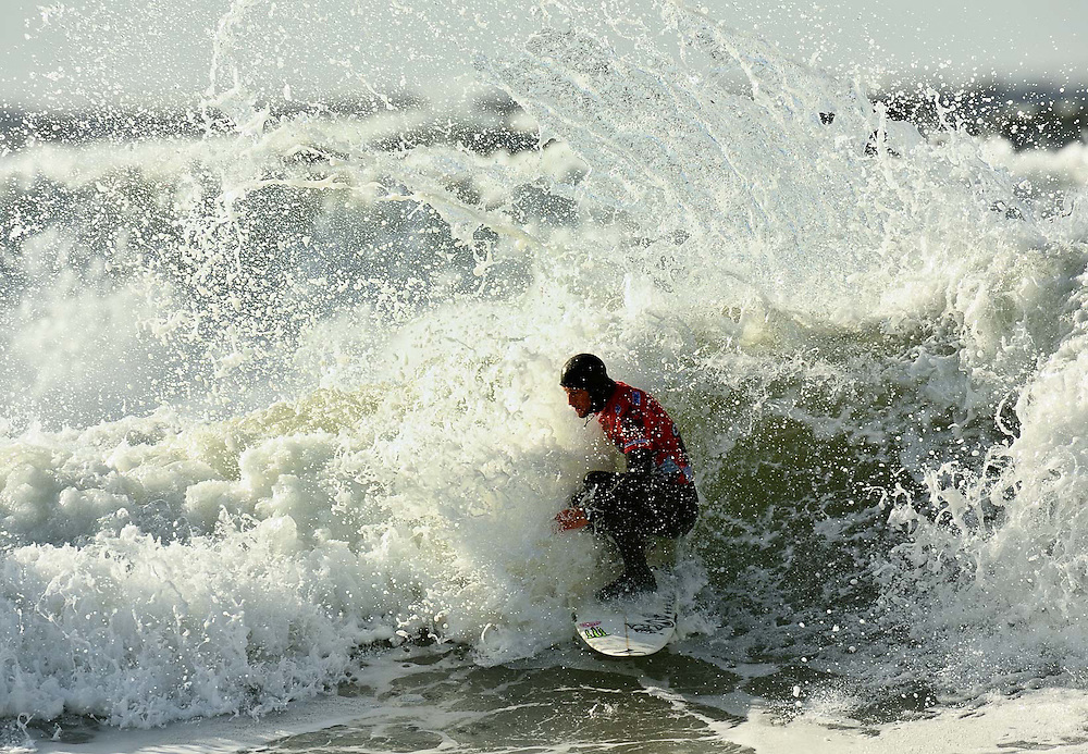 The O'Neil Coldwater Classic srufing competiotion in Tofino, quarter-finals, semis and finals