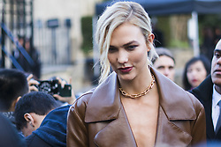 March 4, 2018 - Paris, France - Karlie Kloss is seen during Paris Fashion Week Womenswear Fall/Winter 2018/2019, on March 4, 2018 in Paris, France. (Credit Image: © Nataliya Petrova/NurPhoto via ZUMA Press)