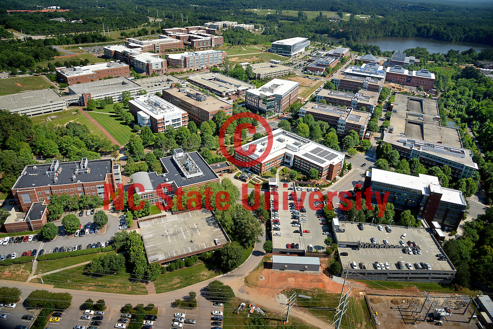 Centennial Campus looking south.