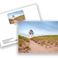 Covehead Lighthouse, Cavendish Prince Edward Island, Canada<br />