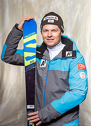 08.10.2016, Olympia Eisstadion, Innsbruck, AUT, OeSV Einkleidung Winterkollektion, Portraits 2016, im Bild Christoph Wahrstötter, Skicross, Herren // during the Outfitting of the Ski Austria Winter Collection and official Portrait Photoshooting at the Olympia Eisstadion in Innsbruck, Austria on 2016/10/08. EXPA Pictures © 2016, PhotoCredit: EXPA/ JFK