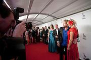 Mark de Cloe poseert op de rode loper bij het gala voor de Gouden Kalf. Op de laatste avond van het Nederlands Film Festival NFF worden de Gouden Kalveren uitgereikt, Nederlands hoogste filmprijs.<br /> <br /> Mark de Cloe is posing for photographers at the red carpet. The Gouden Kalf (Golden Calf), the award for the best movie, is presented at the gala on the last evening of the Nederlands Film Festival in Utrecht. Carice van Houten won her fifth Gouden Kalf, a record.