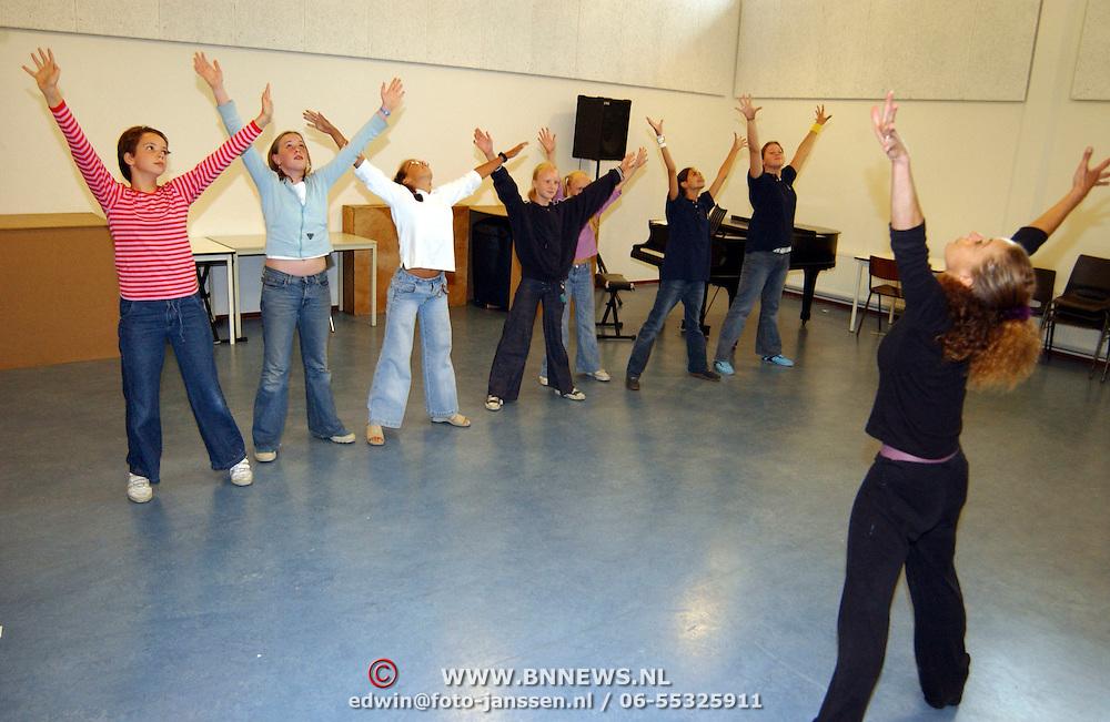 Auditie voor de musical Oliver Gooische Muziekschool bussum