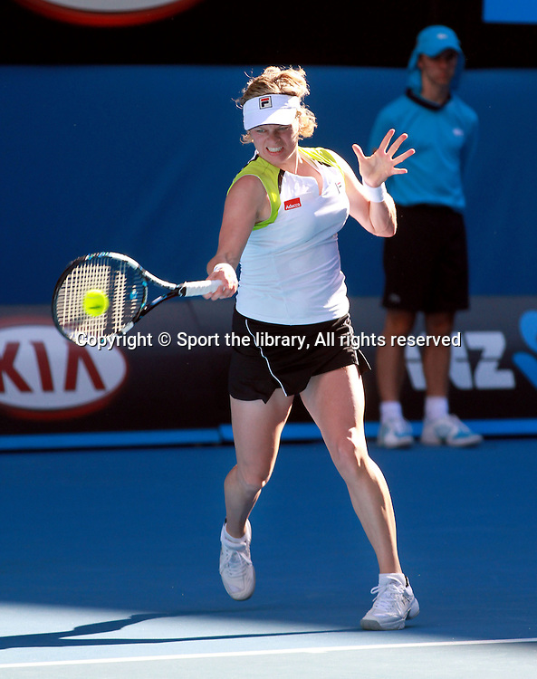 Kim Clijsters (BEL)<br /> 2012 Australian Open Tennis<br /> Melbourne, Victoria<br /> Monday January 16th 2012<br /> &copy; Sport the library / Shannon Morris