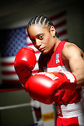 6/24/11 2:49:13 PM -- Colorado Springs, CO. -- A portrait of U.S. Olympic lightweight boxer Queen Underwood, 27, of Seattle, Wash. who will be competing for her fifth title. She began boxing in 2003 and was the 2009 Continental Champion and the 2010 USA Boxing National Champion. She is considered a likely favorite to medal at the 2012 Summer Olympics in London as women's boxing makes its debut as an Olympic sport. -- ...Photo by Marc Piscotty, Freelance.