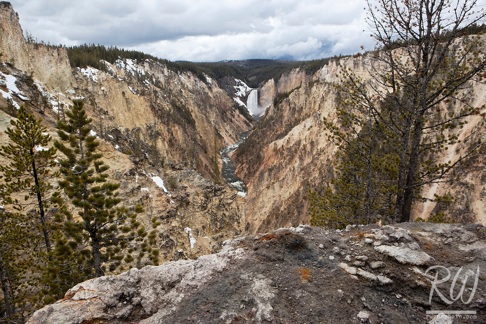 Artist's Point Scenic View - Grand Canyon of the Yellowstone, Yellowstone National Park, Wyoming