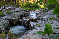 MONTANA - JULY 28: View of a wild mountain stream. (Photo by Jennifer Stewart)