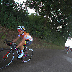 Boels Rental Ladies Tour Bunde-Valkenburg leader in the final stage Trixi Worrack