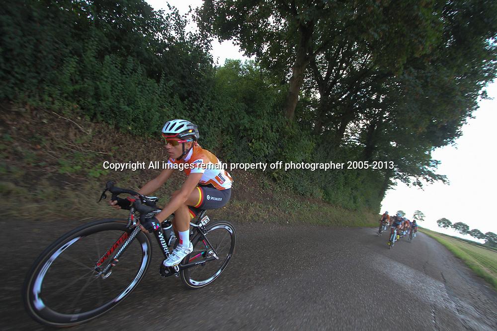 Boels Rental Ladies Tour Bunde-Valkenburg leader in the final stage Trixi Worrack