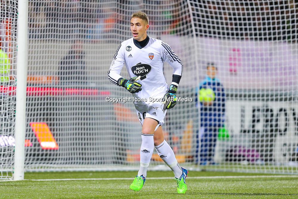 Benjamin LECOMTE  - 20.12.2014 - Lorient / Nantes - 19eme journee de Ligue 1 -<br /> Photo : Vincent Michel / Icon Sport