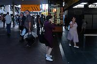 Commuters at Circular quay, Sydney, Australia. January 2nd-11th 2007