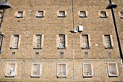 Cell window. HMP Wandsworth, London, United Kingdom