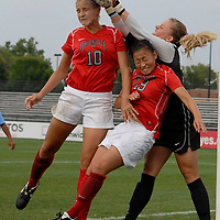 Ohio State vs North Carolina - Women's Soccer - Sept. 4, 2011
