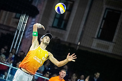 Jan Pokersnik of Slovenia at Beach Volleyball Challenge Ljubljana 2019, on August 4, 2019 in Kongresni trg, Ljubljana, Slovenia. Photo by Grega Valancic / Sportida