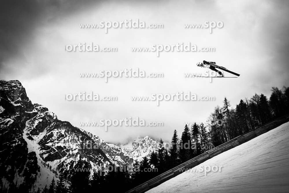 Takanashi Sara of Japan during Large Hill Individual Event at 3rd day of FIS Ski Jumping World Cup Finals Planica 2014, on March 22, 2014 in Planica, Slovenia. Photo by Grega Valancic / Sportida