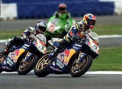 JOHN REYNOLDS REVE RED BULL DUCATI,  British Superbike Championship Round 12 Silverstone  2000