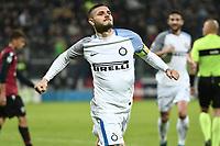 esultanza gol Mauro Icardi Inter Goal celebration <br /> Cagliari 25-11-2017 Sardegna Arena Football Calcio Serie A 2017/2018 Cagliari - Inter Foto Daniele Buffa / Image / Insidefoto